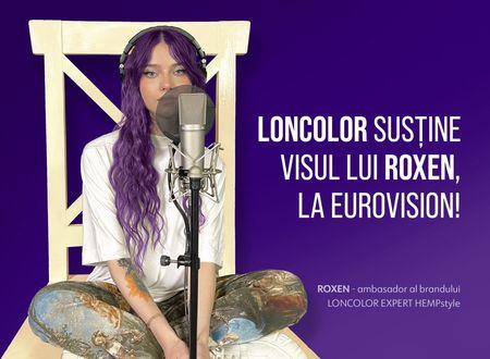 LONCOLOR o sustine pe ROXEN la Eurovision Song Contest 2021