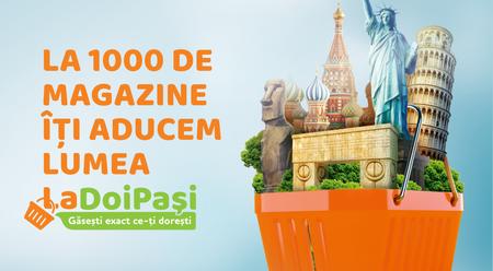 Reteaua LaDoiPasi, dezvoltata de retailerul METRO Cash & Carry, a atins obiectivul de 1000 de magazine la nivel national
