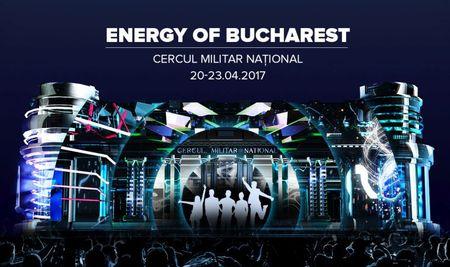 Mindscape Studio iese din nou in strada cu un video mapping interactiv. Energy of Bucharest.