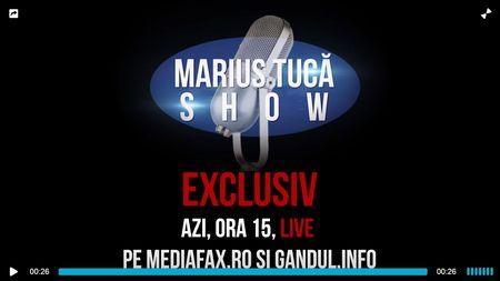 SMART TV cu Primul Ministru. LIVE VIDEO Marius Tuca Show de la ora 15.00 cu Viorica Dancila pe Mediafax si Gandul
