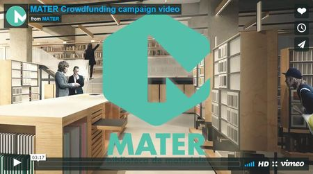 Campania de crowdfunding MATER a primei biblioteci de materiale a strans deja 5000 de euro