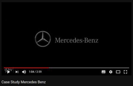 Licitatie castigata si contract Mercedes - Benz la GAV. Impreuna de la infiintarea agentiei, in 2003.