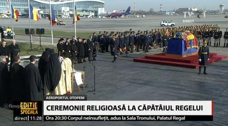 Transmisie Live TVR. Funeraliile Regelui Mihai I. Casa Regala a desemnat Televiziunea Romana producator exclusiv al ceremoniilor.