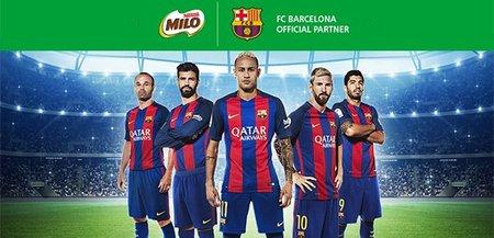 Premiera globala in sportul rege. Nestle a batut palma pe 4 ani cu FC Barcelona.
