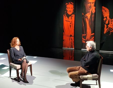 Marcel Iures la Nocturne. Marina Constantinescu reia intalnirile in seria de emisiuni - dialog la TVR 1
