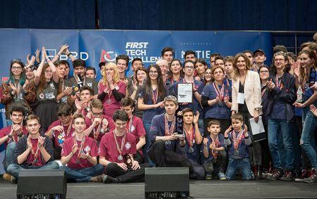 39 de echipe de robotica, aliniate la Iasi, in debutul competitiilor regionale din Campionatul National BRD FIRST Tech Challenge Romania