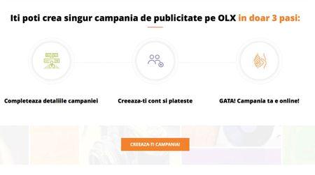 Cu peste 10 mln de vizitatori, OLX lanseaza un nou serviciu dedicat utilizatorilor care vor sa-si promoveze afacerile
