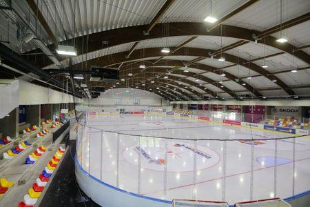 S-a redeschis Patinoarul Tiriac - Telekom Arena. Antrenamentele au fost reluate cu sprijinul Telekom, Allianz-Tiriac, Dedeman, Skoda si Simona Halep.