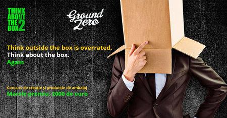 Ultima saptamana de inscrieri in concursul Think about the box, cu premii de 2.000 de euro