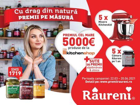 "Raureni a lansat impreuna cu Propaganda campania nationala ,,Cu drag din natura, premii pe masura"""