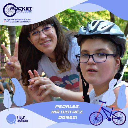 Pedalezi, te distrezi si donezi. Evenimentul caritabil Rocket Bike Fest organizat de Help Autism a ajuns la a-X-a editie.