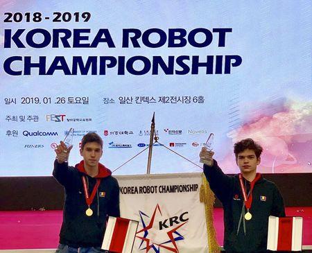 Romania a castigat finala Campionatului de Robotica din Coreea de Sud