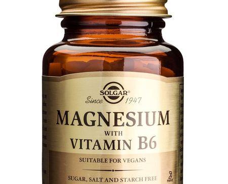 Jucator nou pe piata suplimentelor. Magneziu cu vitamina B6 de la Solgar.