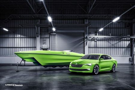 Ce mai zi de marketing. Skoda anunta intrarea pe piata Yacht-urilor.