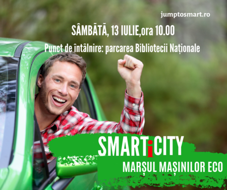 Racheta numarul 2 a Romaniei sustine marsul masinilor eco si marsul bicicletelor, sambata, 13 iulie