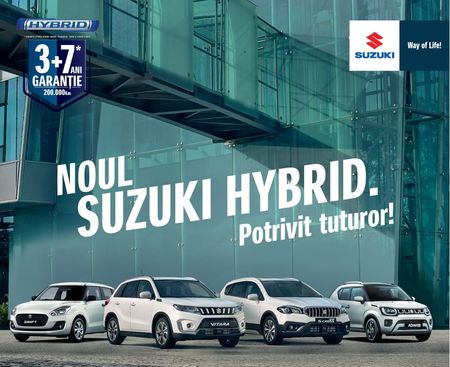 Licitatie auto castigata de Stefanini Infinit. Suzuki alege Stefanini Infinit (Infinit Agency) ca agentie de referinta full-service pentru urmatorii 2 ani