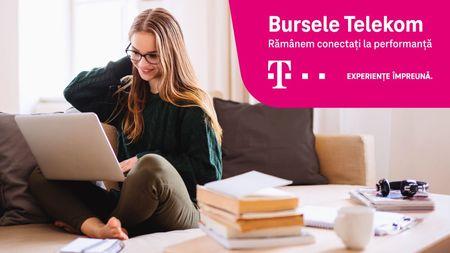 """Cu peste 400.000 de euro oferiti pana in prezent, Telekom Romania lanseaza cea de-a unsprezecea editie a programului """"Bursele Telekom"""""""