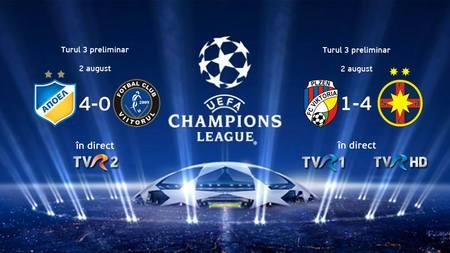 1 din 5 romani a vazut la TVR victoria FCSB la Plzen. 1 din 3, in minutul de aur. TVR 1, lider de audienta.