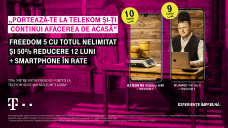 Oferte noi Telekom la actualele nevoi de consum, pentru afaceri si persoane fizice: Smart TV Stick, 50% reducere la abonamente si telefoane in rate