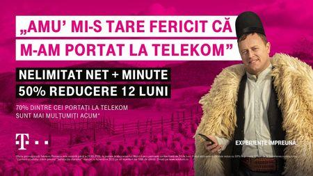 Un sfert de milion s-au portat in Telekom. Noile oferte pentru cei care se porteaza din alte retele