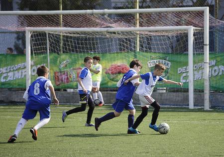 Tymbark sustine cel mai mare campionat de fotbal pentru copii. Finala Cupei Tymbark - 24, 25 mai.