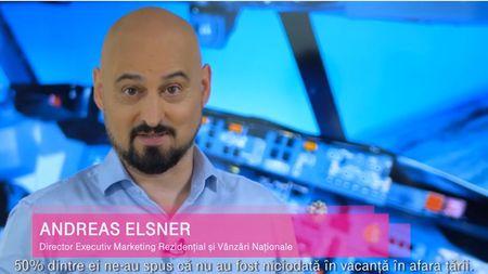 """,,Ne place sa ne ascultam clientii. Dupa cea mai recenta interactiune, am aflat ca 50% nu au fost in vacanta in afara tarii"""" Andreas Elsner, Telekom. Vouchere Blue Air si telefoane Samsung in promotie"""