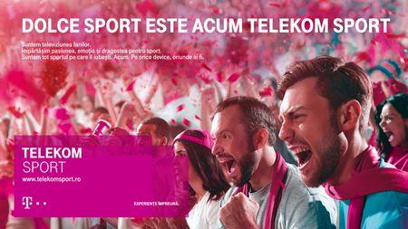 Rebranding Dolce Sport la Telekom Sport cu Leo Burnett Romania si United Senses Germania