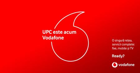 Vodafone Romania a absorbit UPC Romania. In urma incheierii fuziunii, UPC este de azi Vodafone.