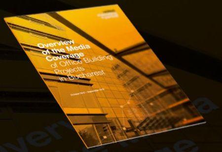 Cladiri de birouri in media: 6 din 15 proiecte de peste 20.000 mp acopera 66% din articolele online