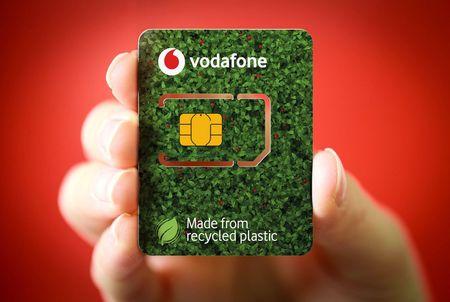 Vodafone lanseaza Eco-SIM-urile fabricate din plastic reciclat. In Romania, de anul viitor.
