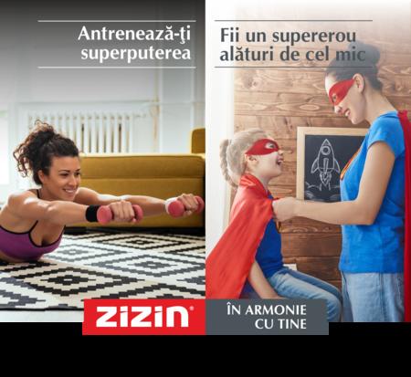 Cu o noua imagine de brand si o noua pozitionare de la Brand New si Propaganda Group, Zizin ne indeamna la armonie. Media la Initiative.