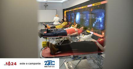 Peste 10.000 de vieti salvate in campania de donare de sange la birou #cei1024, initiata de ZITEC