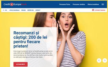 Zitec digitalizeaza Credit Europe Bank. Noua platforma digitala a bancii