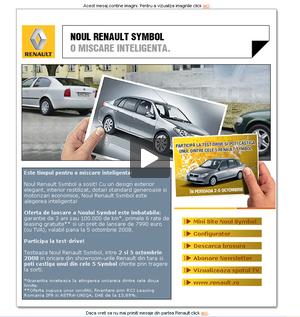 Noul Renault Symbol. O miscare inteligenta