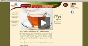 Website: coffeeservices.ro - Tea Tales