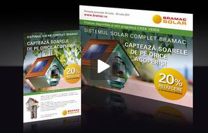 Bramac panouri solare